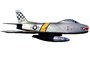 F-86H Sabre, photo-object, object, cut-out, cutout, MYFV10P06_07F