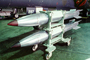 B-61 Silver Bullet Special Weapon, Thermo-Nuclear Hydrogen Bomb, Bomb Rack, Lowery Air Force Base, Denver, Colorado, MYFV11P10_08