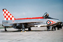 XR719, English Electric (BAC) Lightning, RAF
