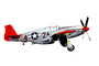 Tuskegee, P-51C Mustang, Red Tail Angels, photo-object, object, cut-out, cutout, MYFV14P11_15F