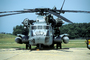 Sikorsky CH-53 Stallion prepping for flight