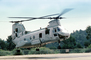 Taking-off, Operation Kernel Blitz, Boeing CH-46 Sea Knight, urban warfare training