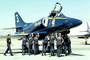 A-4F Skyhawk, The Blue Angels, Number-3