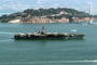 USS Kitty Hawk (CV-63), Yerba Buena Island, San Francisco Oakland Bay Bridge, USN, United States Navy, MYNV02P03_05