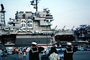Sailors Saluting, USS Kitty Hawk (CV-63), USN, United States Navy, MYNV02P07_16