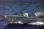 Speed, Ships Bow, USS Francis Hammond (DE 1067), Knox-class frigate, Ship