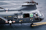 Boeing CH-46 Sea Knight 65, 2495, HC-11, tow bar, folded blades