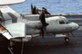 Grumman E-2C Hawkeye, NE-602, 163027, VAW-116 'Sun Kings', touch-and-go