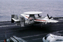 Grumman E-2C Hawkeye, NE-602, 163027, VAW-116 'Sun Kings', touch-and-go, take-off