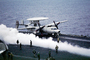 Grumman E-2C Hawkeye, NE-602, 163027, VAW-116, 'Sun Kings', steam
