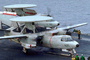 Grumman E-2C Hawkeye, 600, preparing for launch