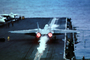 Grumman F-14 Tomcat afterburners, take-off