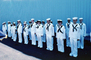sailors, standing in attention, MYNV08P08_11