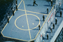 Sailors standing in Attention, Helipad, USN, United States Navy, ship, vessel, hull, maritime, warship, MYNV09P01_19