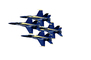 McDonnell Douglas F-18 Hornet, Blue Angels, photo-object, object, cut-out, cutout, MYNV12P07_08F