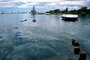 Pearl Harbor, USS Arizona Memorial, oil slick