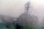 fog, ghost ship, ship, vessel, hull, maritime, warship, MYNV14P03_06