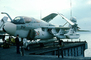 Grumman EA-6B Growler, USS Independence, VAQ-132, 712, 158807, November 1975, 1970's, external pods