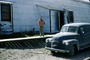 Panel Truck, delivery van, Quonset Hut, Adak, Alaska, USN, United States Navy, 1950's, MYNV18P05_07