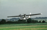 Consolidated PBY-5 Catalina, Flying, flight, airborne, spinning propellers