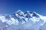 Mount Everest, Himalayas, Sagarmatha, Chomolungma, Mt. Everest, NANV01P03_02B