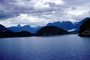 Desolation Sound, fjord, Mountains, water, coast, coastline, clouds, April 1996, NCBV01P09_13