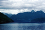 Desolation Sound, fjord, Mountains, water, coast, coastline, clouds, April 1996, NCBV01P09_14