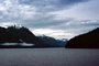 Kingcome Inlet, fjord, Mountains, water, coast, coastline, clouds, April 1996, NCBV01P09_17