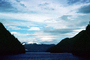 Kingcome Inlet, fjord, Mountains, water, coast, coastline, clouds, April 1996, NCBV01P10_01