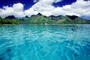 Clouds, Water, Island of Moorea, NDPV02P01_02