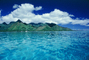 Clouds, Water, Island of Moorea, NDPV02P01_03