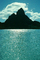 Mount Otemanu, Clouds, Mountains, Ocean, Pacific Ocean, Island of Moorea, NDPV02P07_11