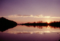 Reflectiing lake, sunswet, bucolic, clouds, water, NMTV01P05_07