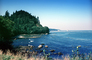 Cape Flattery area, ocean, calm, still, Olympic Peninsula, NNTV03P08_17