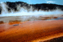 Grand Prismatic Hot Springs, Hot Spring, Geothermal Feature, activity, Extremophile, Thermophile, geochemically extreme conditions, NNYV02P05_10.0938