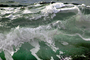 Green Wave and Foamy Apparition, Beach, Wave, Sonoma County Coast, Ocean, Water, Seawater, Sea, Wet, Liquid, NPND04_147