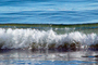 Breaking Wave at Drakes Bay, California, Momentary Water Sculpture, NPND05_090
