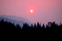 Trinity County, fire smoke sunset, NPNV02P10_09.1265