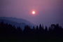 Trinity County, fire smoke sunset, NPNV02P10_10
