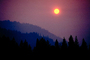 Trinity County, fire smoke sunset, NPNV02P10_12.1265