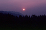 Trinity County, fire smoke sunset, NPNV02P10_14