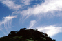 Cirrus clouds, wispy clouds, hill, Salinas Valley, NPNV02P12_01