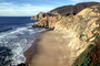 Waves, Cliffs, Beach, Peaceful, Calm, Bucolic, Horizon, PCH, NPNV09P09_11