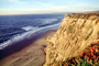 Waves, Cliffs, Beach, Peaceful, Calm, Bucolic, Horizon, NPNV09P09_14