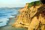 Waves, Cliffs, Beach, Peaceful, Calm, Bucolic, Horizon, NPNV09P09_15