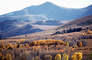 Mountain, Hills, Trees, Forest, Woodlands, a few kilometers north of Mono Lake, autumn, water, Equanimity, NPNV15P10_08
