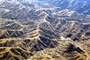 Fractal Patterns, mountains, hills, valleys, summertime, summer, dry, dessicated, Stanislaus County