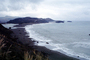 beach, sand, cloudy, hills, coastal, Russian River Mouth, Sonoma County, Pacific Ocean, NPNV15P12_18