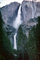 Yosemite Falls, Waterfall, forest, trees, NPYV01P01_08