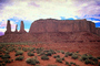Mesa, geologic feature, butte, Monument Valley, Arizona
